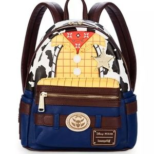 Loungefly Woodie mini Backpack - Toy Story